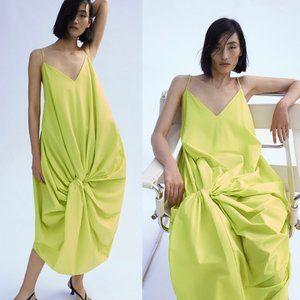 NWT Zara knotted dress size S
